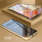 360 doppia Sided Glass Magnetic cover Samsung Galaxy
