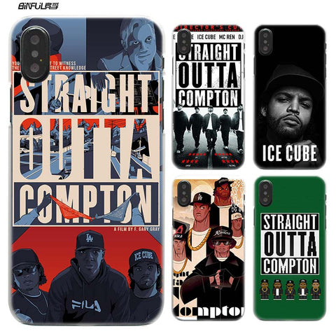 Straight Outta Compton NWA cover iphone