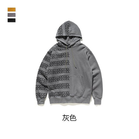 Cooo Coll Men Women Long Hoodies Hip Hop streetwear