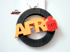 Afro Earrings