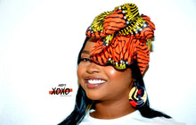 Load image into Gallery viewer, Johari headwrap