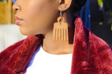 Load image into Gallery viewer, Afro Comb Earrings