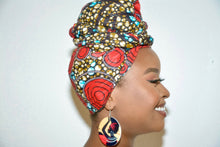 Load image into Gallery viewer, Waridi headwrap