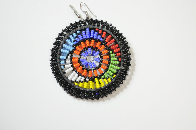 Round Zulu Earrings