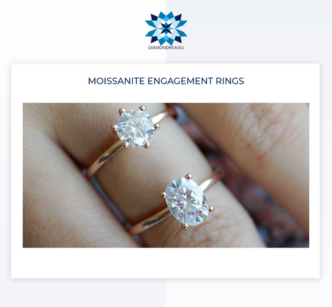 Value Added, Affordable Moissanite Engagement Rings for You