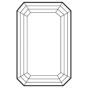Emerald cut size chart
