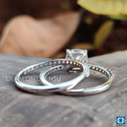 pave ring set