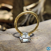 two tone engagement ring - diamondrensu
