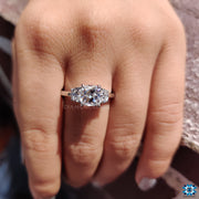 moissanite ring - diamondrensu