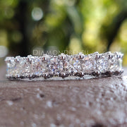 moissanite band