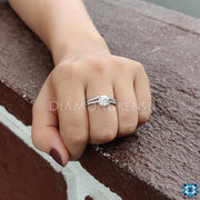 diamondrensu, custom ring, wedding collection