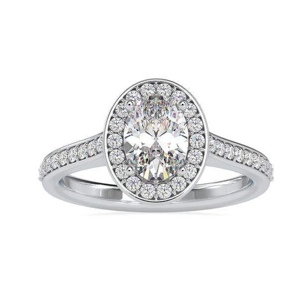 cathedral set engagement ring - diamondrensu