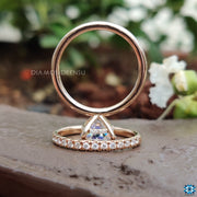 affordable moissanite engagement - diamondrensu