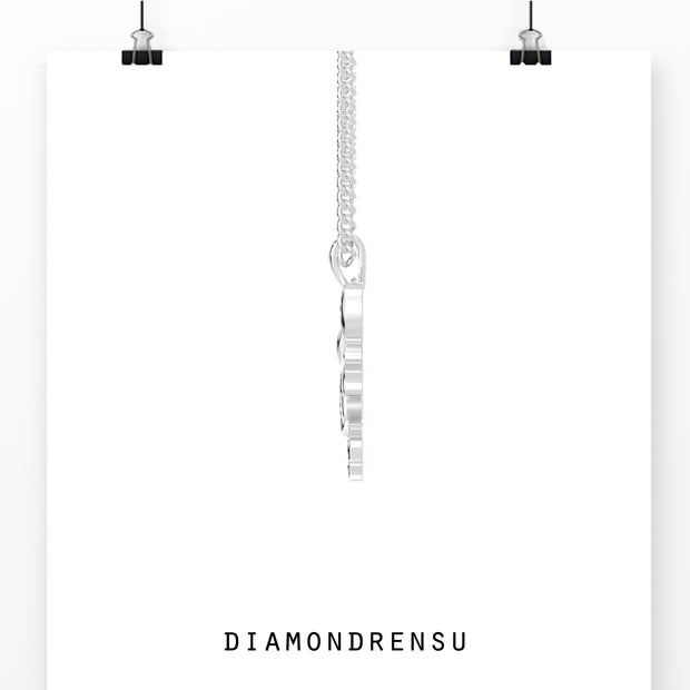 moissanite pendant - diamondrensu