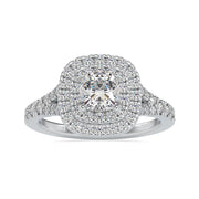cushion cut moissanite - diamondrensu