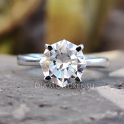 moissanite vs diamond - diamondrensu