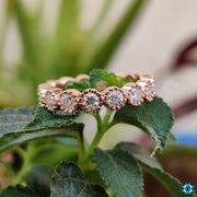 moissanite diamond engagement ring - diamondrensu