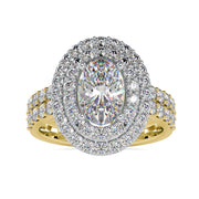 moissanite diamond engagement rings - diamondrensu