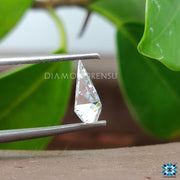 spear cut loose moissanite
