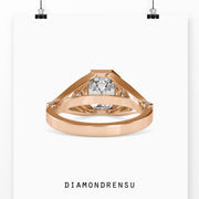 vintage style engagement rings - diamondrensu