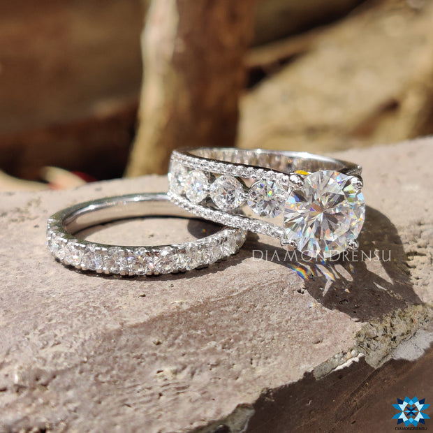euro shank engagement ring - diamondrensu
