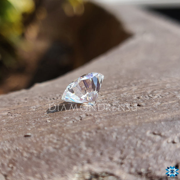 octagon cut moissanite