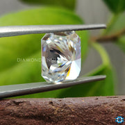 4.21 CT Radiant Cut Colorless Loose Moissanite for Engagement Ring