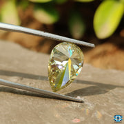 pear cut moissanite - diamondrensu