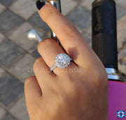 diamondrensu, customized engagement ring