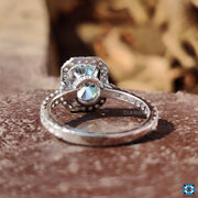 moissanite halo engagement rings - diamondrensu