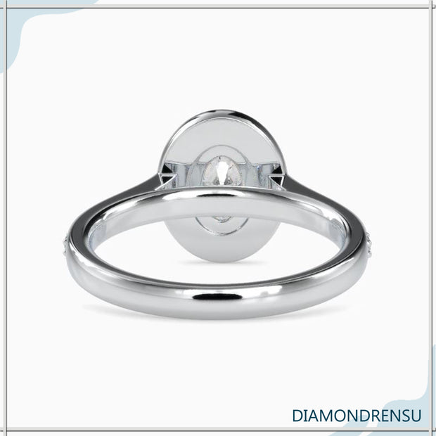 channel set engagement ring - diamondrensu