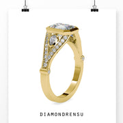 vintage wedding rings - diamondrensu