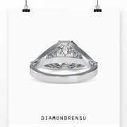 cathedral set solitaire ring - diamondrensu