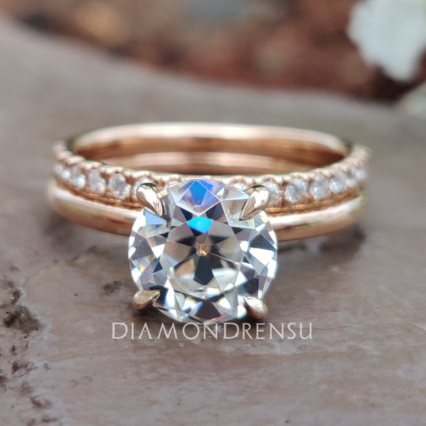 round cut engagement ring - diamondrensu