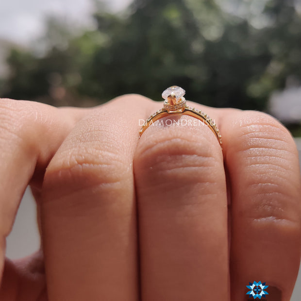 create your own custom moissanite ring - diamondrensu