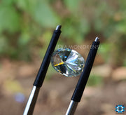 light green color moissanite