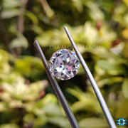 old european cut moissanite diamond