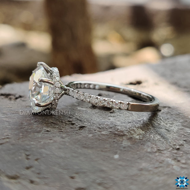 moissanite bridal sets - diamondrensu