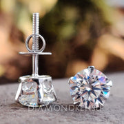 five prong earrings