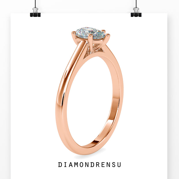 rose cut engagement rings - diamondrensu
