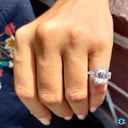 three stones engagement rings - diamondrensu