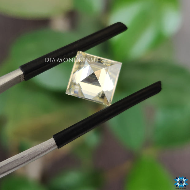 lab created moissanite