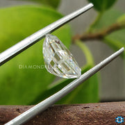 emerald moissanite diamond