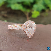 twisted engagement ring - diamondrensu
