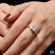cushion divine ring