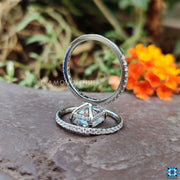 moissanite engagement rings - diamondrensu