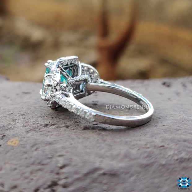 white gold ring - diamondrensu