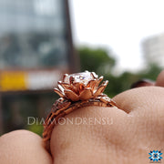 floral setting ring