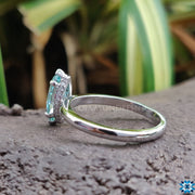 classic moissanite ring