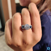 moissanite rings - diamondrensu